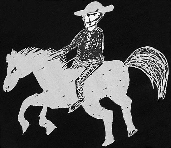 """Hace 185 años nació en el actual municipio de Guadalupe, Nuevo León el famoso bandolero Agapito Treviño alias """"Caballo Blanco""""."""