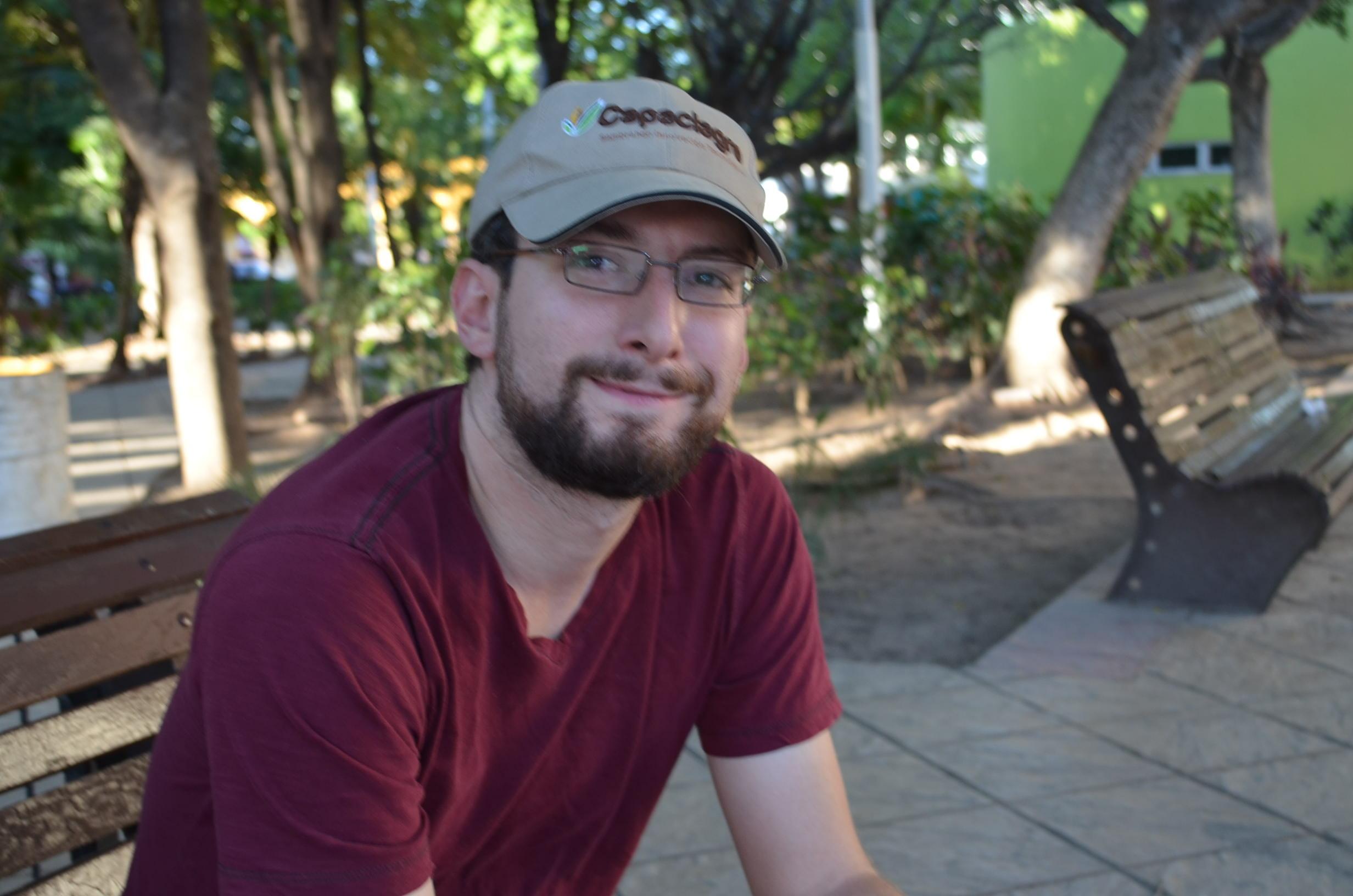 Héctor R. uno de los dirigentes del movimiento Culiacán sin chanchuy. Fotografía: Gabriela Sánchez