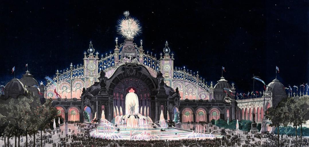 Expo 1900 Palais. LIGHTOPIA, la fuerza de la luz en mundo industrial