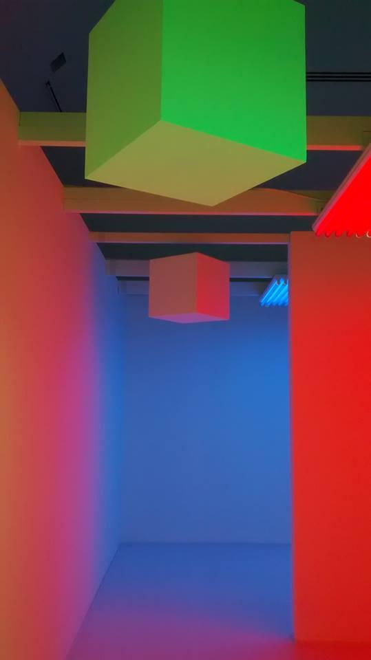 LIGHTOPIA, primer recorrido. Museo de Arte Contemporáneo de Monterrey. Foto 1.