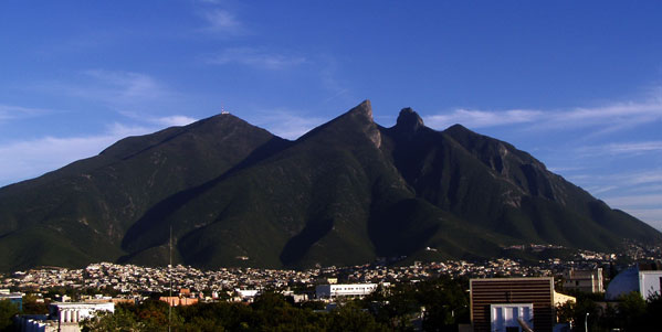 Cerro de la Silla. Cerros de Monterrey.