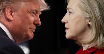 Elecciones EU 2016 Clinton y Trump