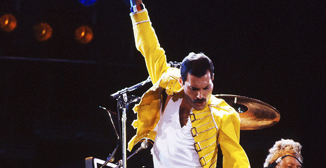 Se cumplen 25 años de la muerte de Freddie Mercury