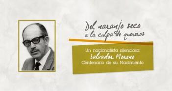 """Concierto-Conferencia """"Del naranjo seco a la culpa de quereros. Un Nacionalista Silencioso: Salvador Moreno"""""""