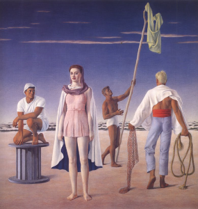 Jared French- Woman and boys
