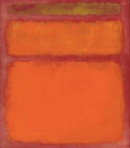 Mark Rothko- Orange, Red, Yellow