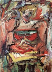 Willem de Kooning- Woman V
