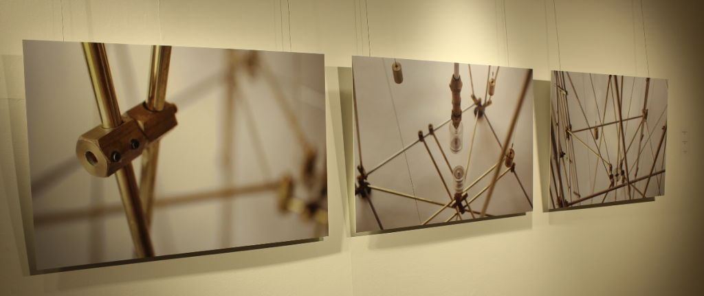 Conflictos con el centro de la tierra, abstracción de Ernesto Walker