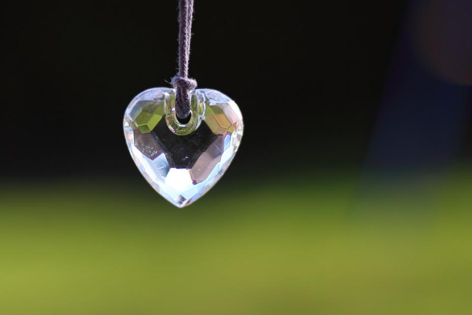 Corazón de vidrio
